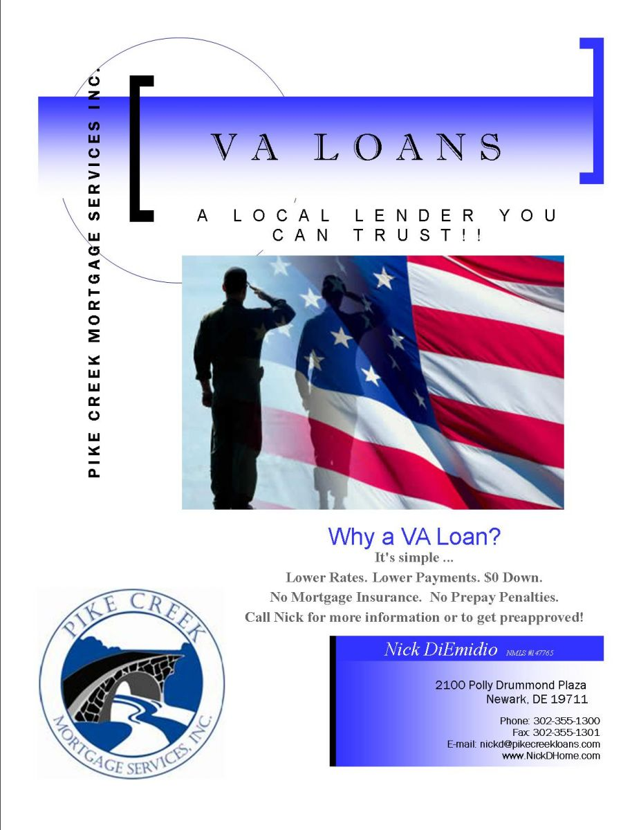 Va Mortgage Flyer